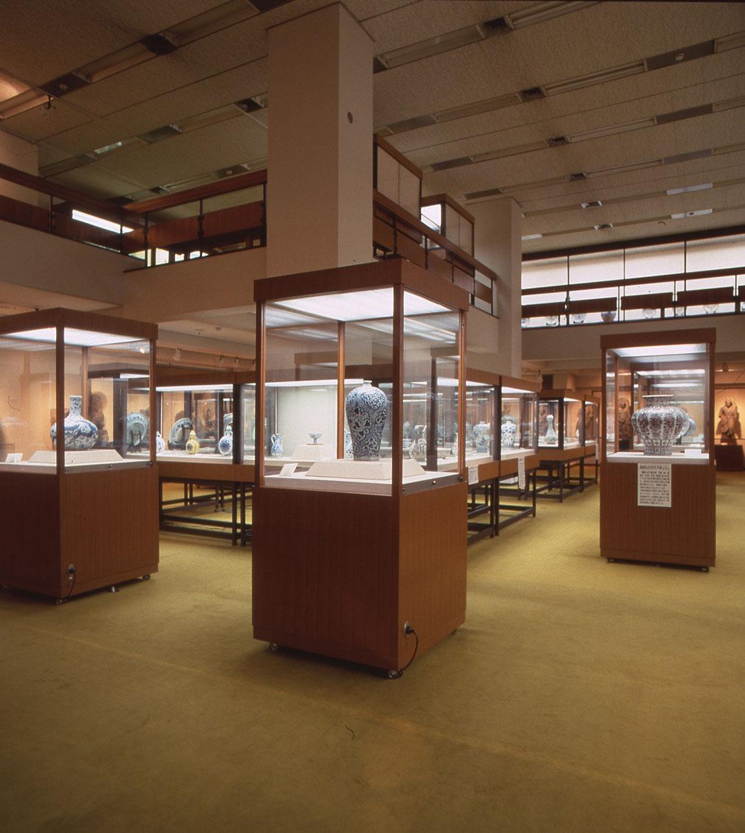 新橋時代の展示室