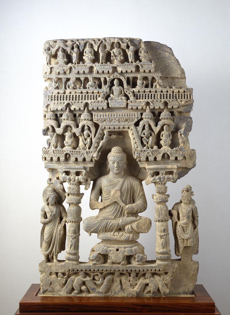 仏陀説法図