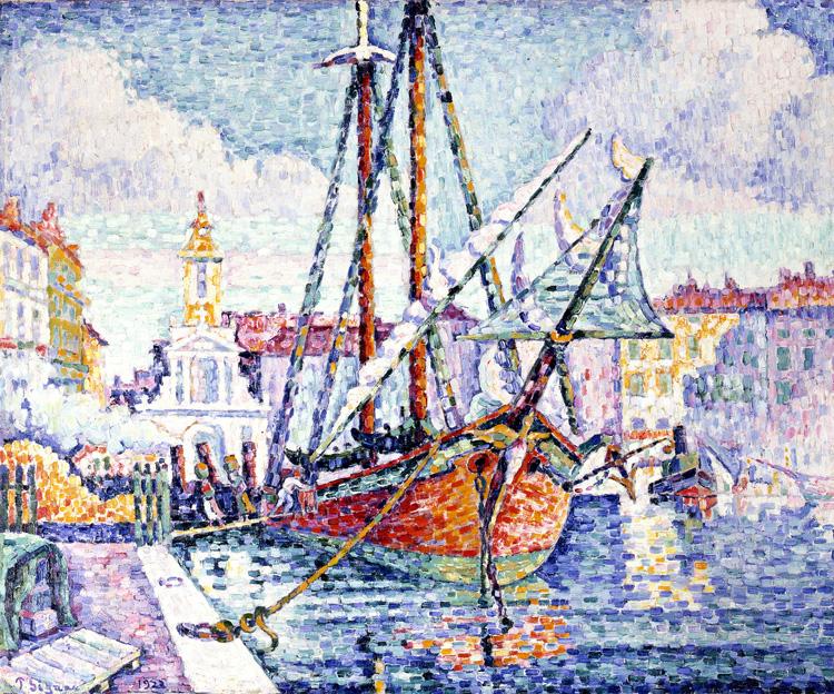 オレンジを積んだ船、マルセイユ