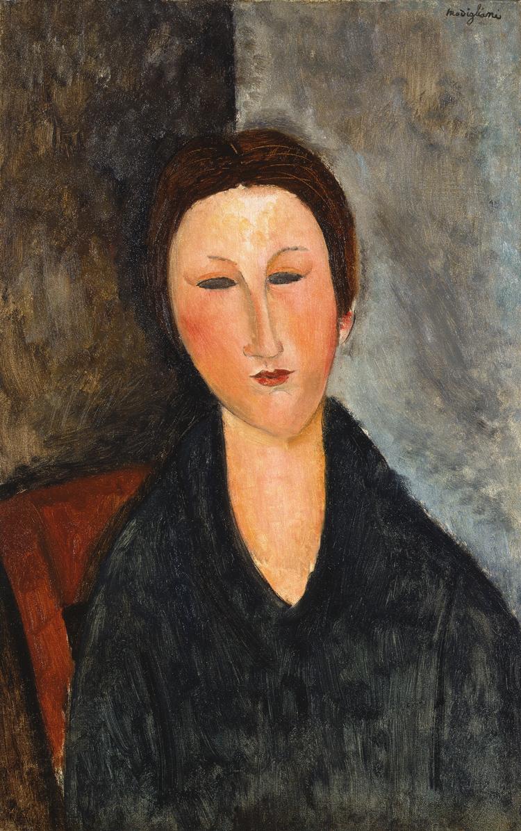 若い女の胸像(マーサ嬢)